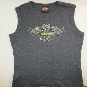 Harley Davidson Daytona Beach Crop Top M